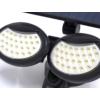 Kép 6/11 - Entac Napelemes Műanyag Fali lámpa 10W SMD 2 fej mozgásérzékelővel