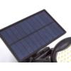 Kép 8/11 - Entac Napelemes Műanyag Fali lámpa 10W SMD 2 fej mozgásérzékelővel