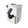 Kép 2/9 - Entac Napelemes Műanyag Fali lámpa 4W SMD álkamera mozgásérzékelővel