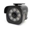 Kép 6/9 - Entac Napelemes Műanyag Fali lámpa 4W SMD álkamera mozgásérzékelővel