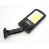 Kép 4/10 - Entac Napelemes Műanyag Fali lámpa 5W COB mozgásérzékelővel és IR távirányítóval
