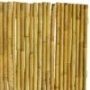 Kép 1/4 - Nortene BAMBOOFLEX rugalmas bambusz kerítés, 2x3 m, 90%