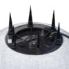 Kép 4/7 - Kanlux STONO 50 E27 cserélhető fényforrású kerti lámpa