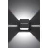 Kép 2/4 - Kanlux ASIL G9 W-GR lámpa G9