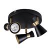 Kép 1/3 - Kanlux MILENO EL-3O B-AG lámpa GU10
