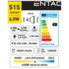 Kép 3/5 - Entac LED spot izzó GU10 6,5W NW 4000K