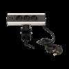 Kép 3/6 - Orno asztali elosztó 3x aljzat, USB elosztó, 1.8 m kábel