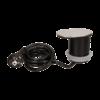 Kép 1/6 - Orno süllyeszthető bútor elosztó 6 cm, eltolható fedél, USB töltő, 1.9 m kábel