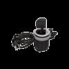 Kép 1/3 - Orno süllyeszthető asztali aljzat 6 cm, USB töltő, 1.8 m kábel