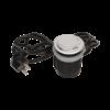 Kép 3/6 - Orno süllyeszthető bútor elosztó 6 cm, USB töltő, 1.8 m kábel