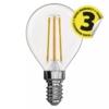 Kép 2/2 - EMOS LED FILAMENT IZZÓ MINI GL 4W (40W) 465LM E14 WW A++
