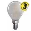 Kép 2/2 - EMOS LED FILAMENT IZZÓ MINI GL 4W (40W) 465LM E14 WW MATT A++