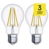 Kép 2/2 - EMOS LED FILAMENT IZZÓ A60 6W (60W) 806LM E27 WW A++ (Z74260)