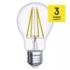 Kép 2/2 - EMOS LED IZZÓ FILAMENT A60 8W (75W) 1060LM E27 WW A++ (Z74270)