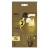 Kép 1/2 - EMOS LED IZZÓ VINTAGE G125 4W (34W) 380LM E27 WW+ (Z74303)