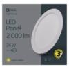Kép 5/7 - EMOS LED PANEL BEÉPÍTHETŐ KÖR 24W IP20 WW (ZD1151)