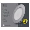 Kép 5/7 - EMOS LED PANEL BEÉPÍTHETŐ KÖR 6W IP20 NW (ZD1222)