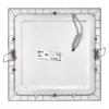 Kép 3/7 - EMOS LED PANEL BEÉPÍTHETŐ NÉGYZET 18W IP20 NW (ZD2242)