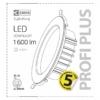 Kép 5/8 - EMOS ZD5112 LED DOWNLIGHT BEÉPÍTHETŐ SPOTLÁMPA 16W PROFI PLUS
