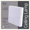 Kép 5/7 - EMOS ZM4303 LED MENNYEZETI LÁMPA NÉGYZET15W IP44 NW