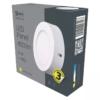 Kép 5/7 - EMOS LED PAN FALON KÍVÜLI PANEL KÖR 6W IP20 WW (ZM5121)