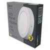 Kép 5/7 - EMOS LED PAN FALON KÍVÜLI PANEL KÖR 12W IP20 WW (ZM5131)
