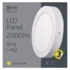 Kép 5/7 - EMOS LED PAN FALON KÍVÜLI PANEL KÖR 24W IP20 WW (ZM5151)