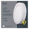 Kép 5/7 - EMOS LED PAN FALON KÍVÜLI PANEL KÖR 24W IP20 NW (ZM5152)
