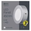 Kép 5/7 - EMOS LED PAN FALON KÍVÜLI PANEL KÖR 6W IP20 NW (ZM5222)