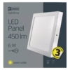 Kép 5/7 - EMOS LED PAN FALON KÍVÜLI PANEL NÉGYZET 6W IP20 WW (ZM6121)