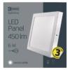 Kép 5/7 - EMOS LED PAN FALON KÍVÜLI PANEL NÉGYZET 6W IP20 CW (ZM6122)