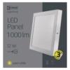 Kép 5/7 - EMOS LED PAN FALON KÍVÜLI PANEL NÉGYZET 12W IP20 WW (ZM6131)