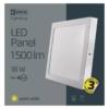 Kép 5/7 - EMOS LED PAN FALON KÍVÜLI PANEL NÉGYZET 18W IP20 WW (ZM6141)