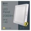 Kép 5/7 - EMOS LED PAN FALON KÍVÜLI PANEL NÉGYZET 24W IP20 WW (ZM6151)
