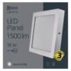 Kép 5/7 - EMOS LED PAN FALON KÍVÜLI PANEL NÉGYZET 18W IP20 NW (ZM6242)
