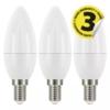 Kép 2/2 - EMOS LED IZZÓ CLASSIC CANDLE 6W (40W) 470LM E14 NW 3DB (ZQ3221.3)