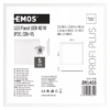 Kép 3/6 - EMOS LED PANEL 40W 60x60 NW IP20 UGR CRI>95