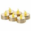 Kép 1/2 - EMOS karácsonyi dekorációs világítás 6x LED mécses arany, 3.8 cm, vintage