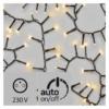 Kép 2/5 - EMOS Karácsonyi Fényfüzér Süni 12M 600LED IP44 időzítővel, meleg fehér