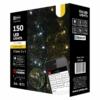 Kép 1/4 - EMOS SMART karácsonyi fényfüzér 15 m, 150 LED, IP44 (iOS, ANDROID, Bluetooth)