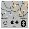 Kép 3/4 - EMOS SMART karácsonyi fényfüzér 15 m, 150 LED, IP44 (iOS, ANDROID, Bluetooth)