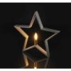 Kép 4/5 - EMOS karácsonyi dekorációs világítás csillag, 44 cm, E14, IP20, szürke