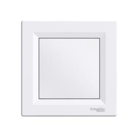 Schneider Electric Asfora - Vakfedél, komplett, fehér