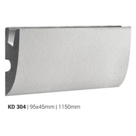 Elite Decor - Tesori rejtett világításos díszléc (KD-304) védőbevonattal