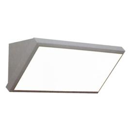 V-TAC Landscape fali lámpa (20W) szürke, természetes fehér IP65