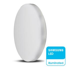 V-TAC IP44 LED panel falon kívüli - kör (25W) Samsung Chip,természetes fehér