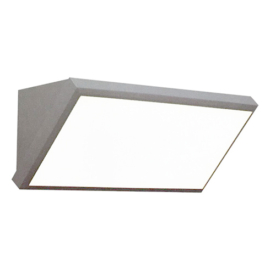 V-TAC Landscape fali lámpa (20W) szürke, hideg fehér IP65