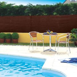 Nortene Szőtt árnyékoló háló 95%-os takarás, TOTALTEX (2x10 méter) barna
