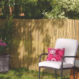 Nortene Belátásgátló 75%, hasított bambusznád kerítés BAMBOOCANE (2x5 méter)