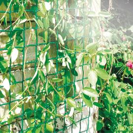 Nortene CLIMBANET műanyag kertirács  (46x44 mm osztású), zöld, 0,5 x 25 m